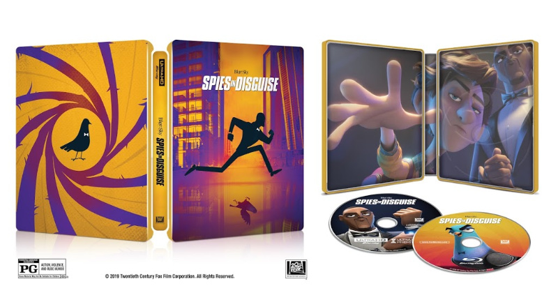 steelbook spies in disguise