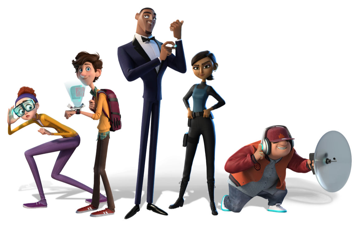 characters from spies in disquise