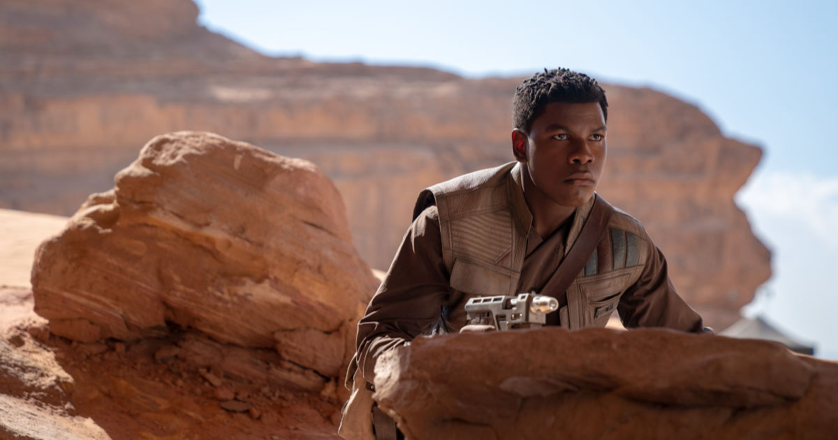 John Boyega is Finn in STAR WARS: RISE OF SKYWALKER