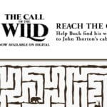 Free Printable Call of The Wild Maze