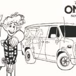 Onward Barley, Ian and Guinevere Coloring Page