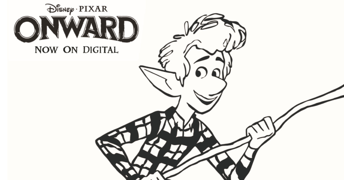 feature ian lightfoot coloring page