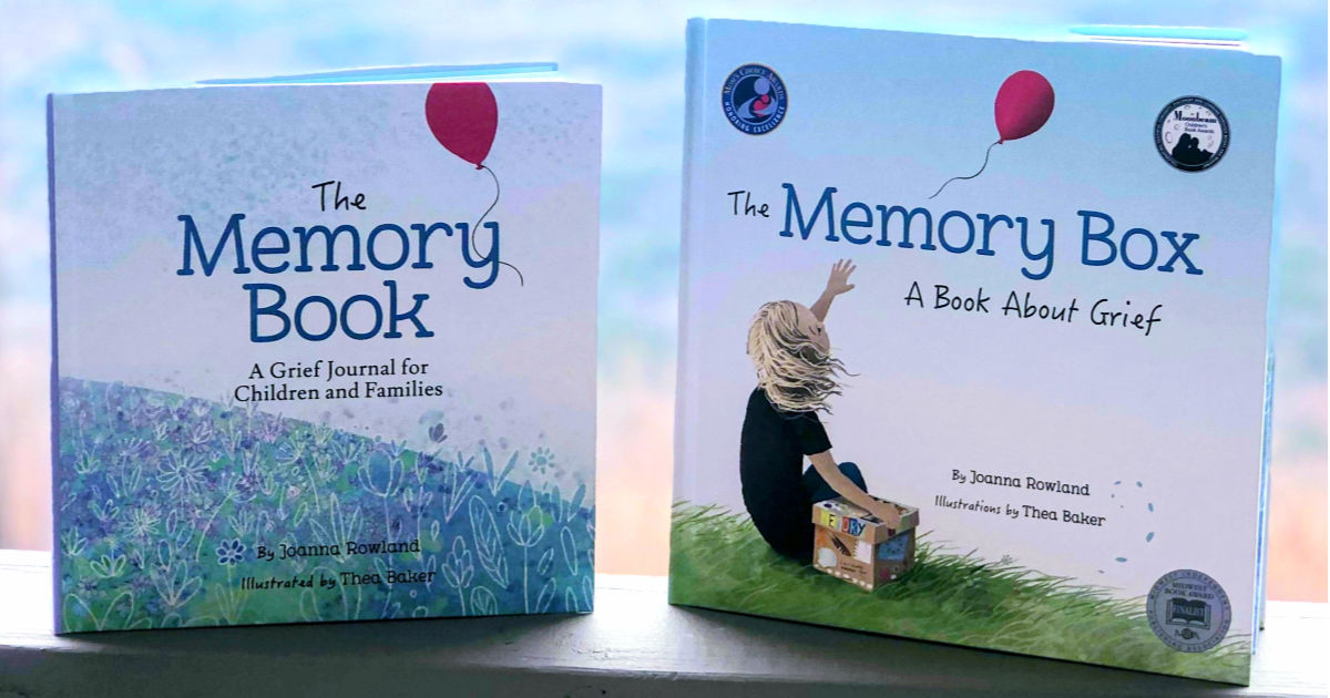 The Memory Book & The Memory Box by Joanna Rowland