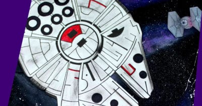 feature millennium falcon galaxy craft