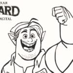Onward Barley Lightfoot Coloring Page