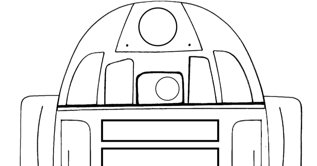 feature r2d2 coloring page