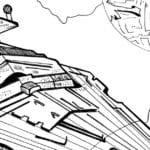 Free Printable Imperial Star Destroyer Coloring Page