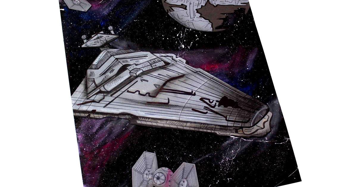 feature star destroyer galaxy craft