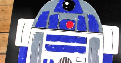 feature star wars r2d2 torn paper craft