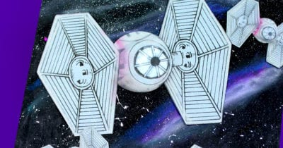 feature tie fighter galaxy craft