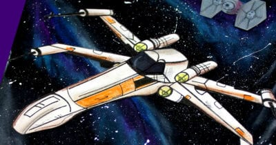 feature x-wing galaxy craft