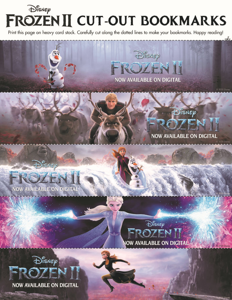 full frozen bookmarks