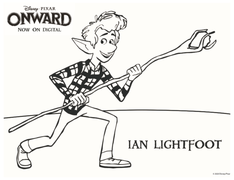full ian lightfoot coloring page