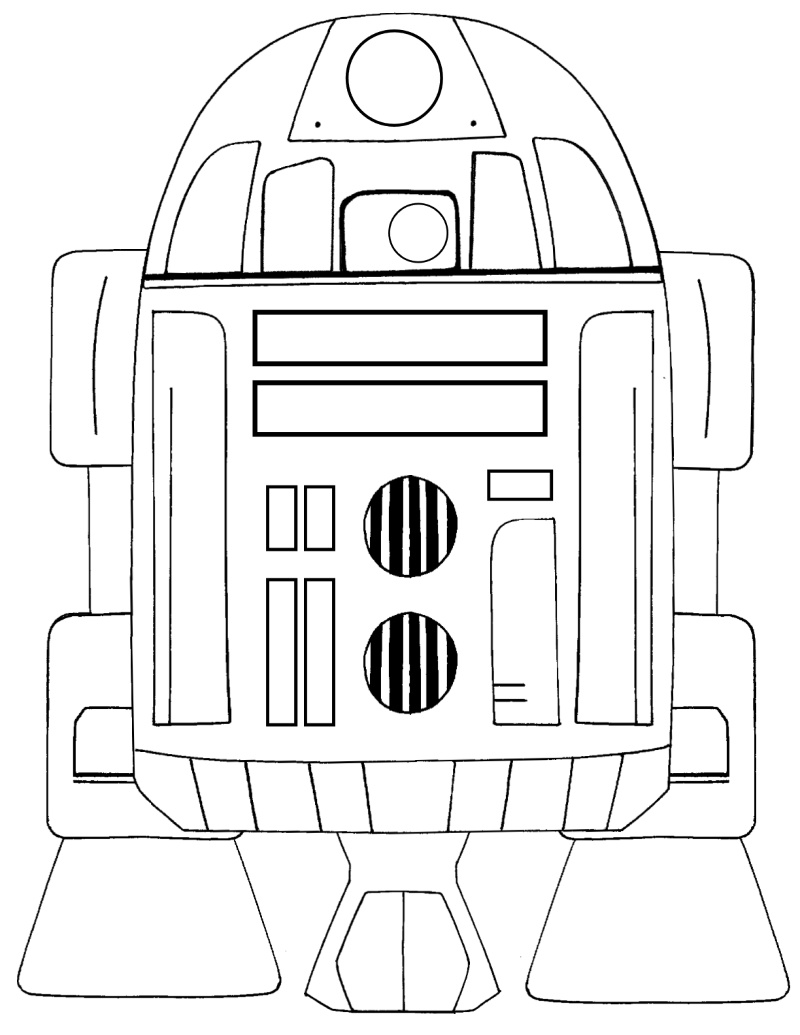 full size r2d2 coloring page