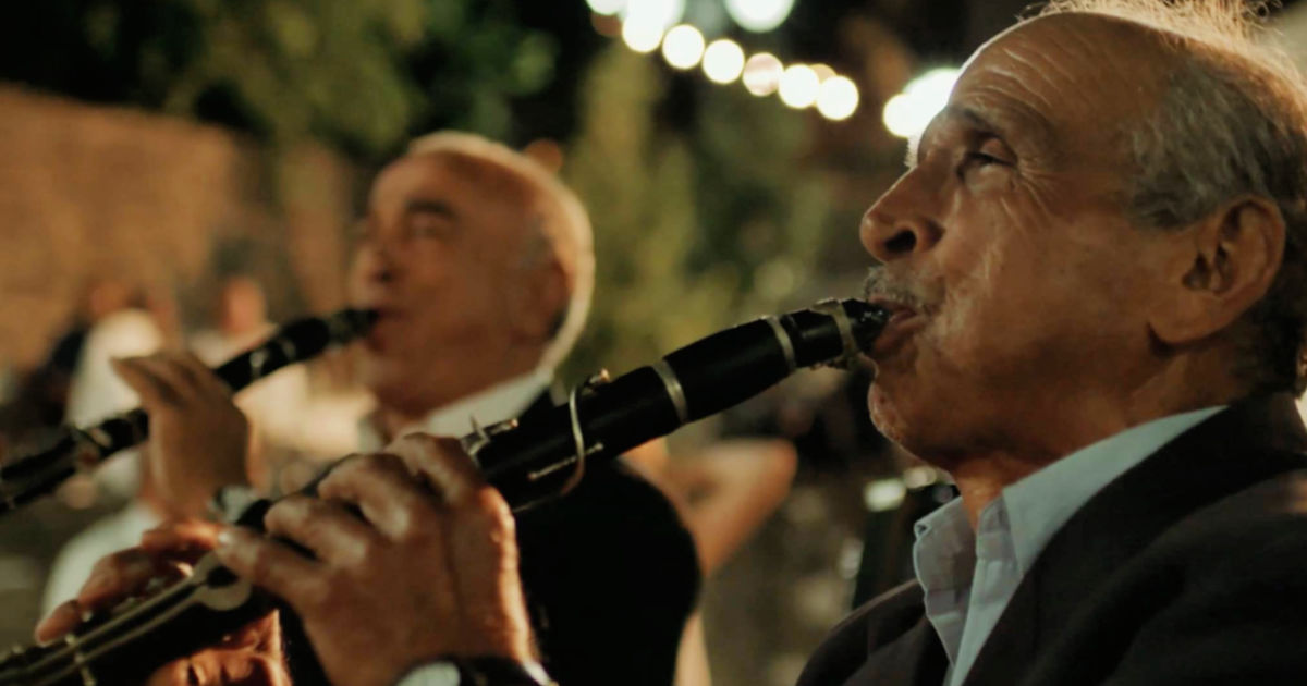 greek musicians in while you live shine