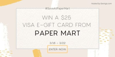 image for Papermart giveaway