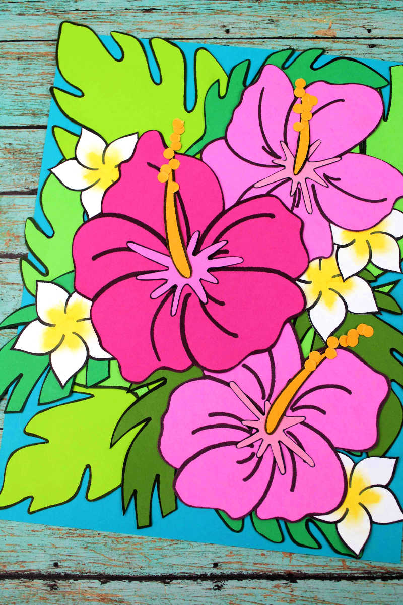 Pretty Pretty Hibiscus Flower Craft