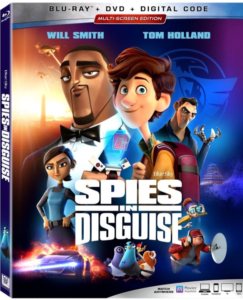 Spies in Disguise now on Blu-ray, DVD and Digital #ad