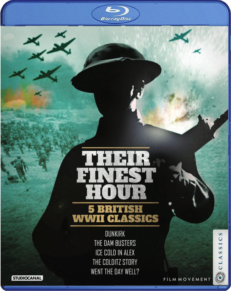 Their Finest Hour - 5 British WWII Classics Blu-ray Set #BritishMovies