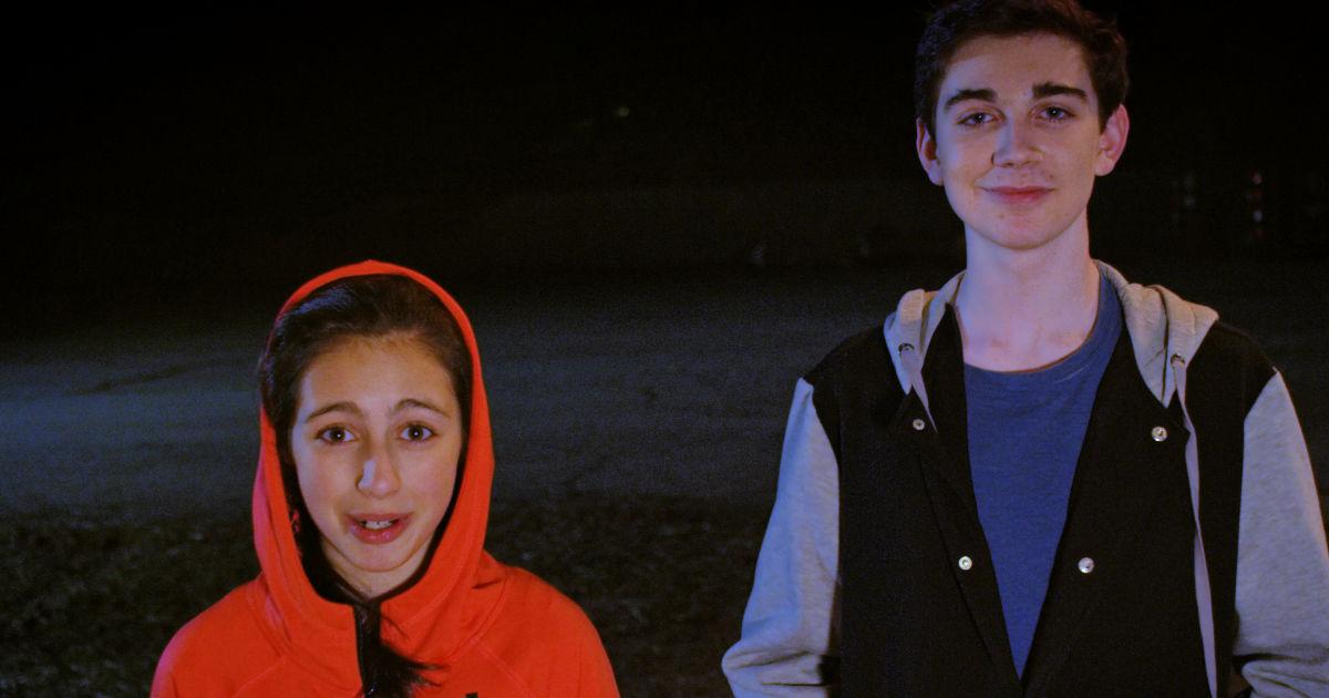 children in toby barks movie
