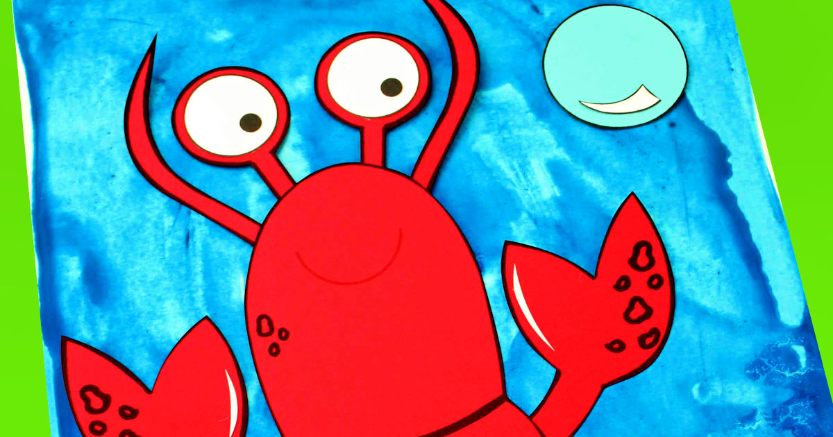 feature lobster paper craft