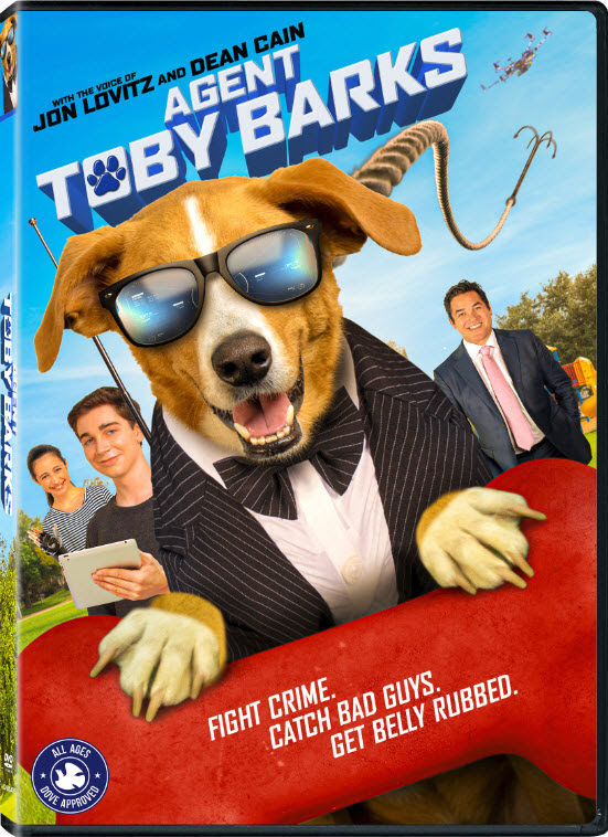 Agent Toby Barks - Fight Crime. Catch Bad Guys. Get Belly Rubbed.