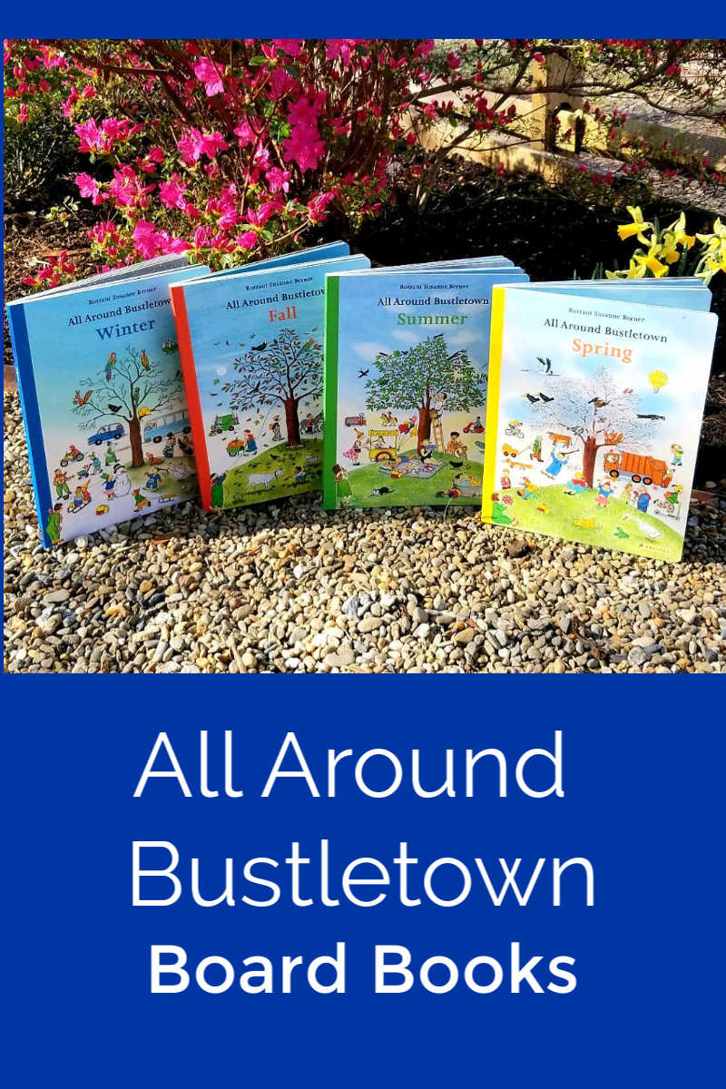 pin all around bustletown board books