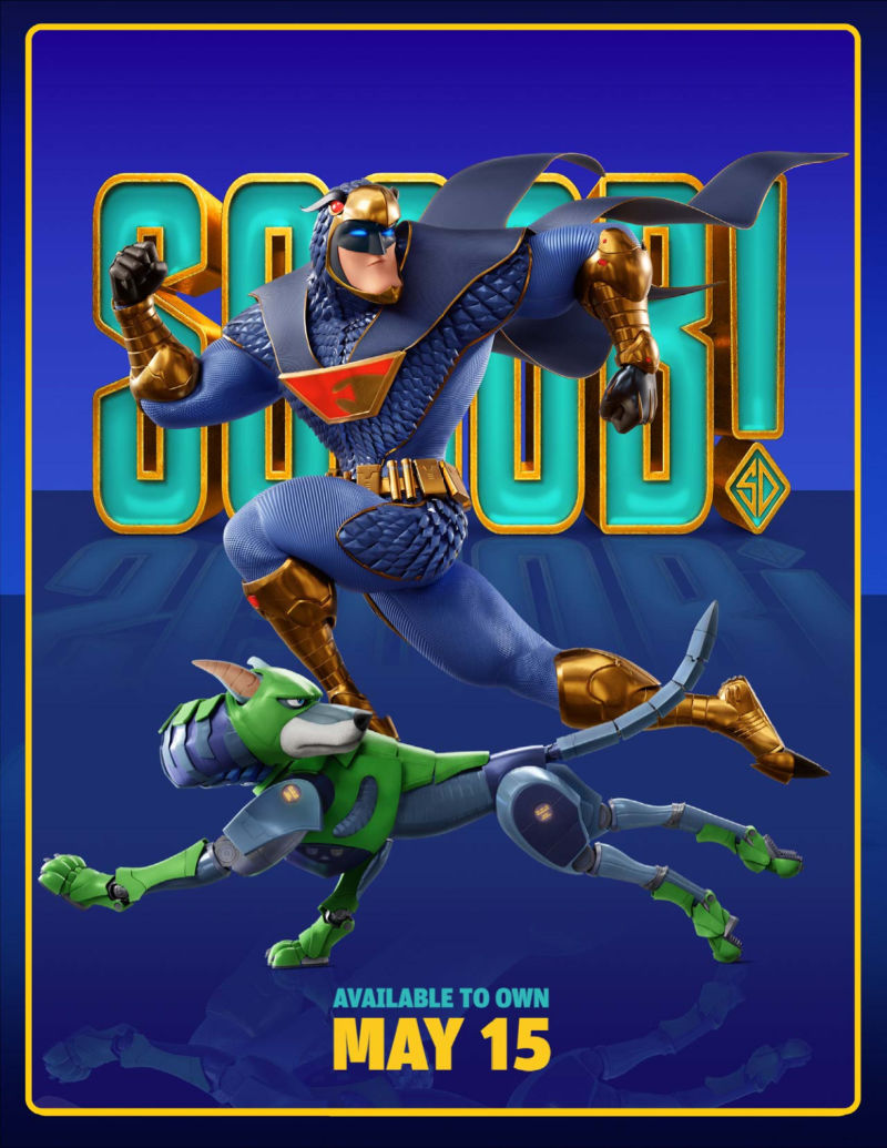 Scoob Poster Blue Falcon