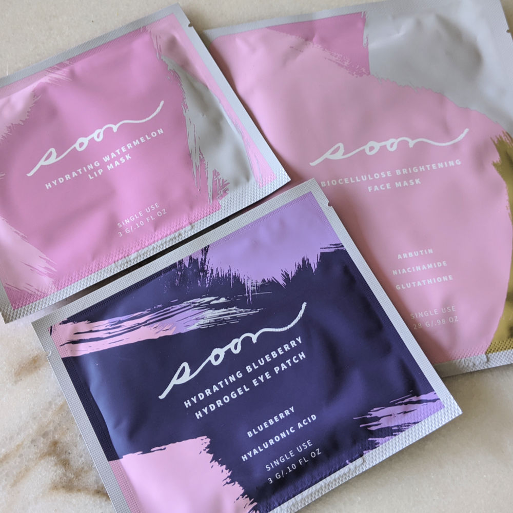 facial care masks and hydrogel