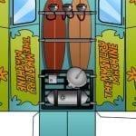 Scooby Doo Mystery Machine Craft