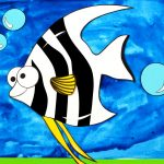 Free Printable Paper Angelfish Craft