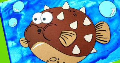 pufferfish craft