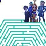 Free Printable Scoob Haunted House Maze