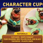Step by Step Scooby Doo Cupcakes