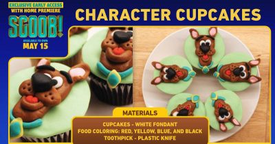 feature scooby doo cupcakes