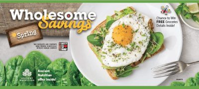feature wholesome savings grocery giveaway