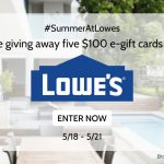 Lowes Gift Card Giveaway