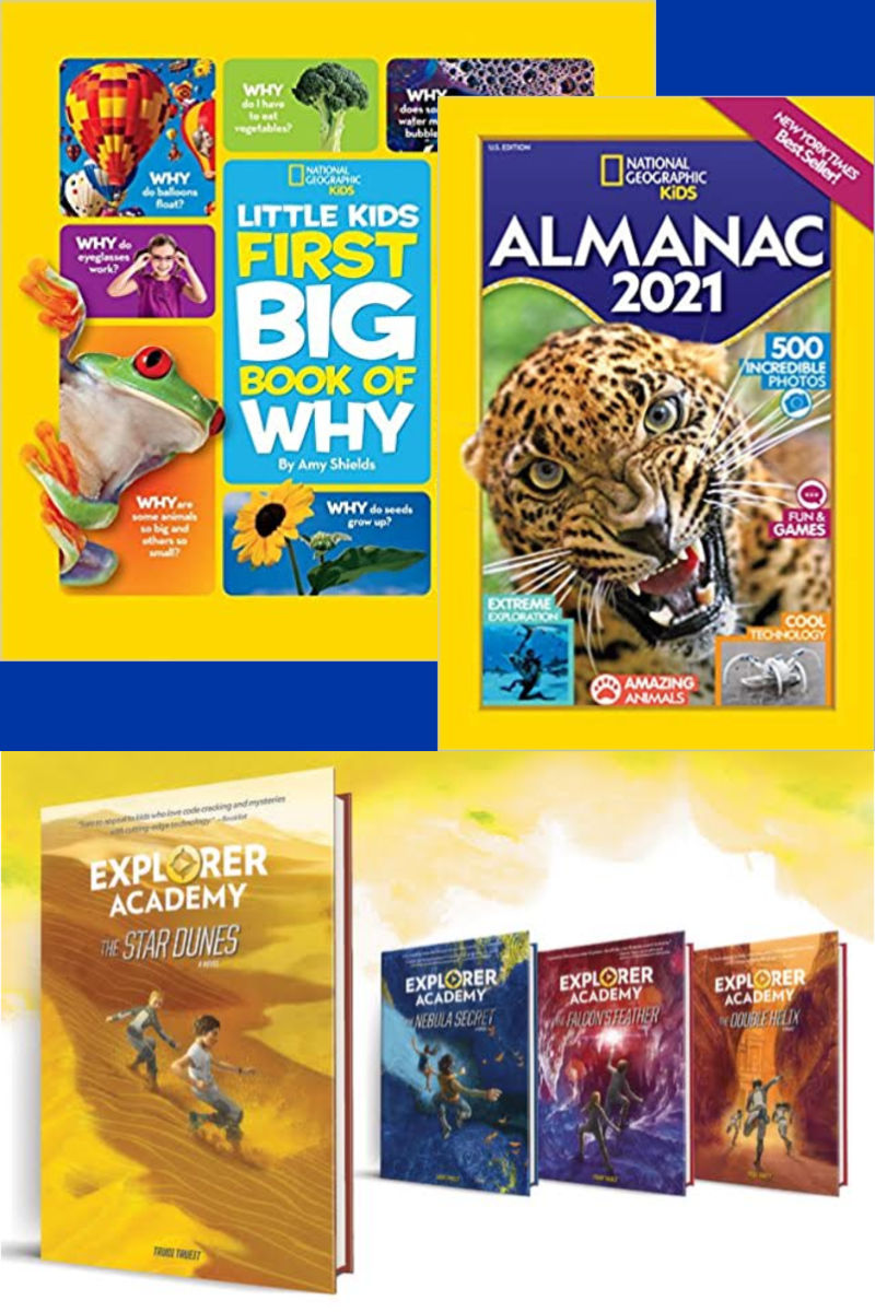 National Geographic Summer Fun Facts and Adventure Books