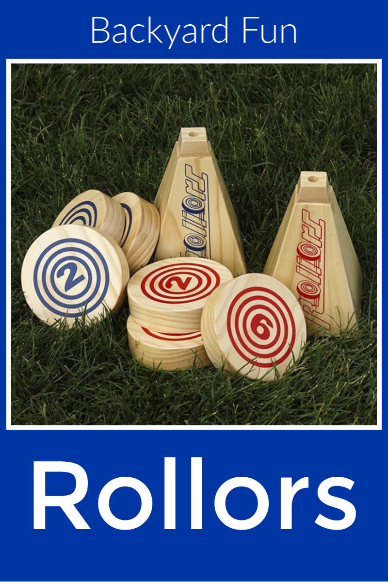 Rollors Yard Game for Backyard Fun