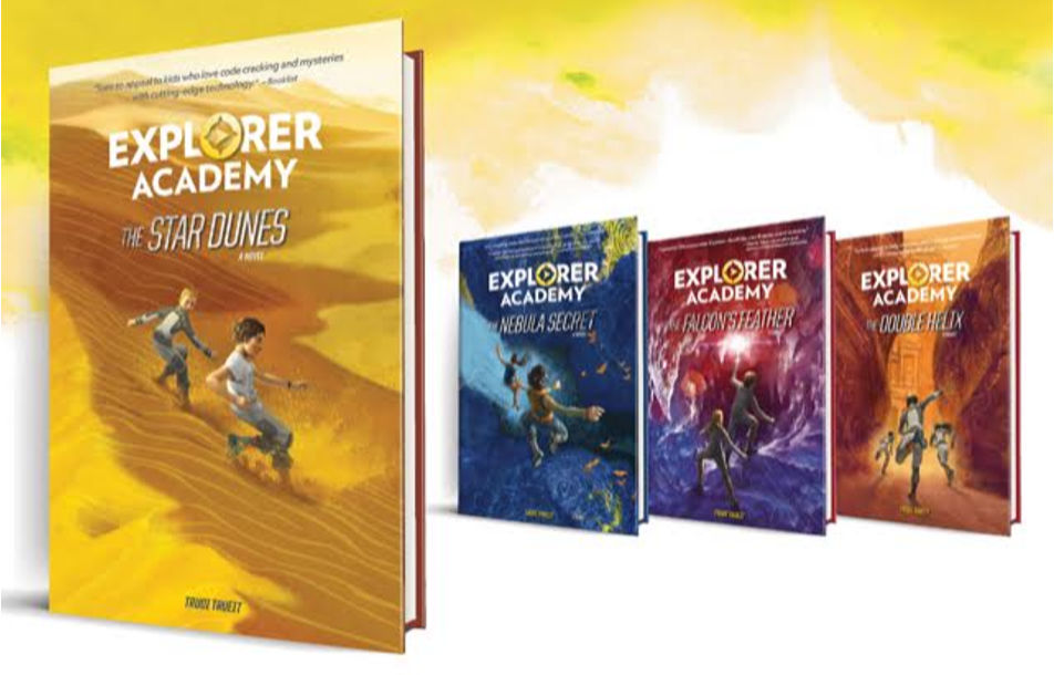 set of explorer academy books
