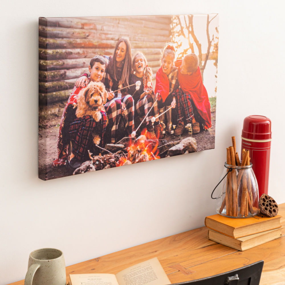 canvas wrap wall art photo gift