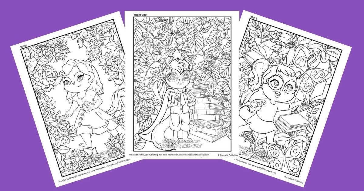 feature honeypot coloring pages
