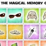 Free Printable Magical Memory Game