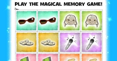 feature magical memory game