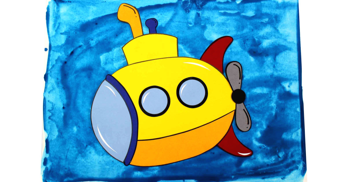 feature yellow submarine craft