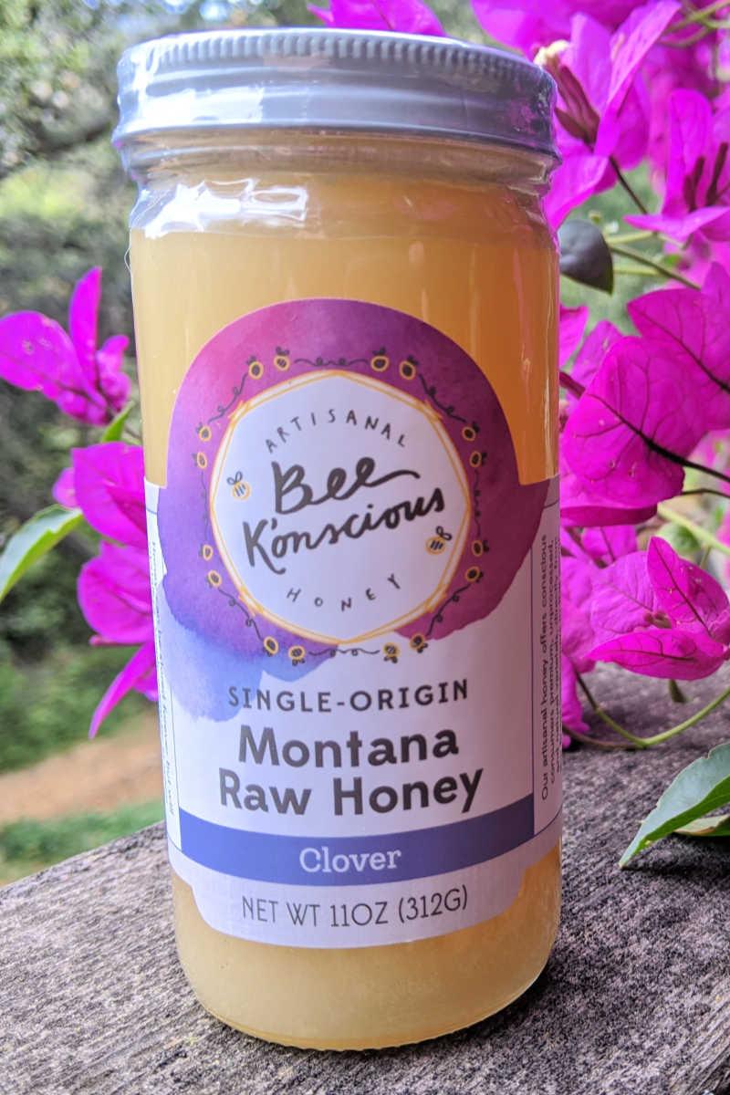 montana raw honey