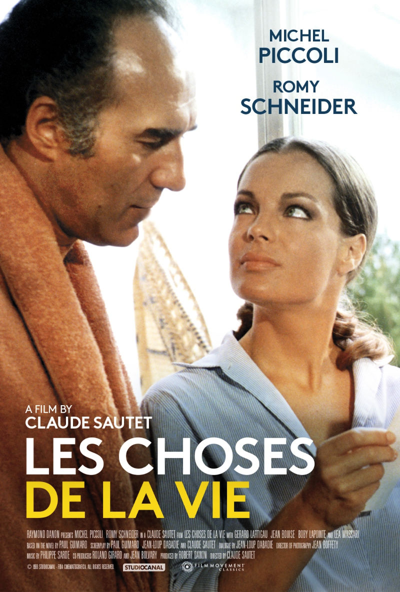 Claude Sautet and Romy Schneider Blu-ray Set