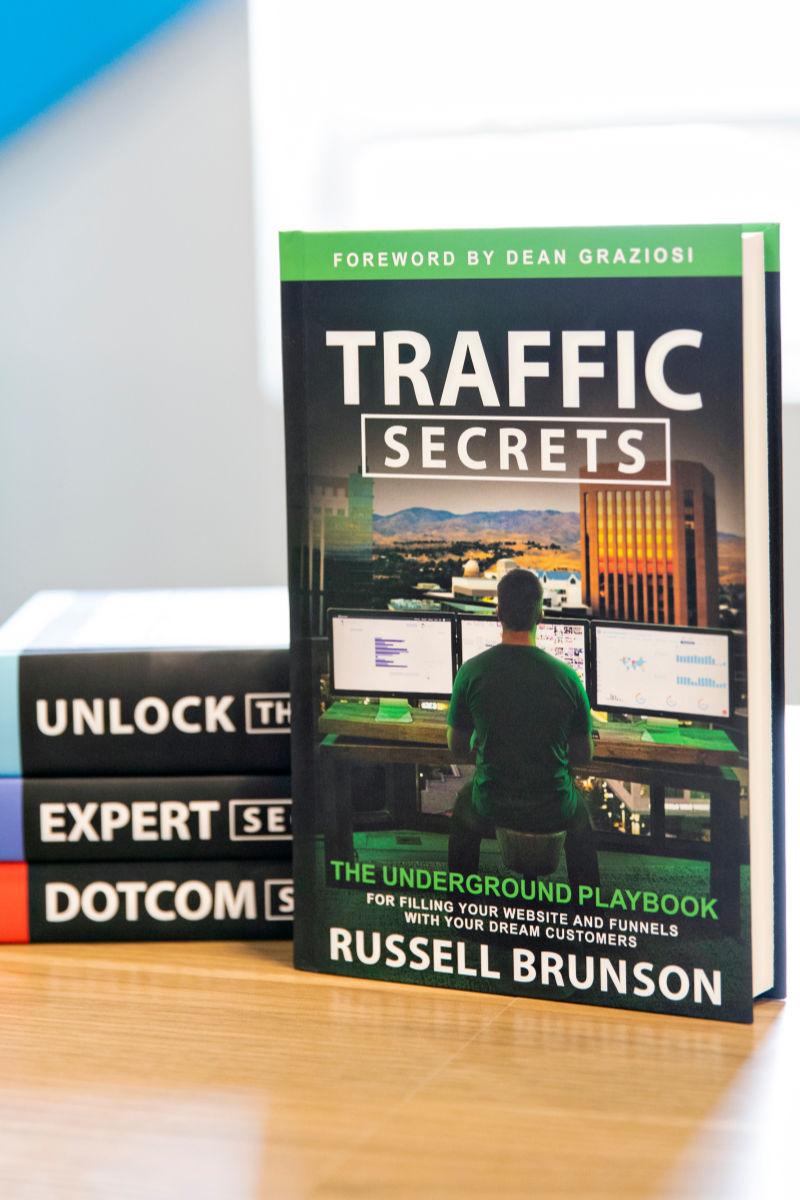 Traffic Secrets from Russell Brunson #entrepreneurship