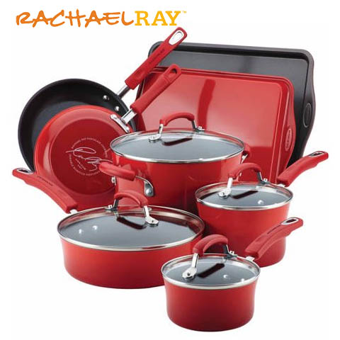 Rachael Ray 12 piece cookware set giveaway