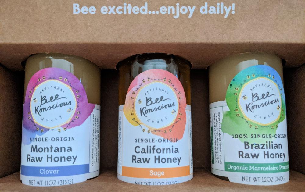 raw honey multi pack